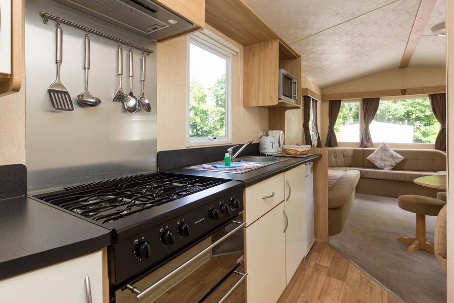 3 Bed Bronze Caravan, Brynteg Holiday Park