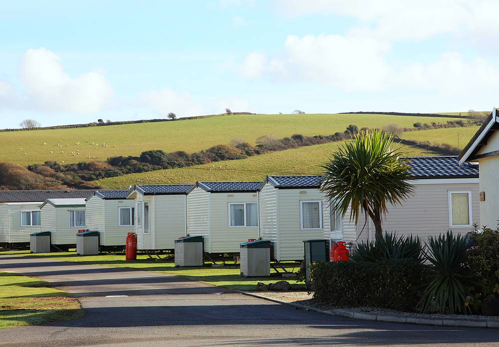 Platinum Plus 3 Bed Caravan, Par Sands, Dog Friendly
