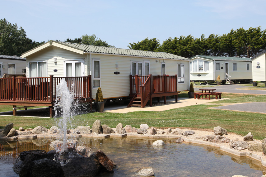 Gold 3 Bed Caravan, Par Sands, Dog Friendly