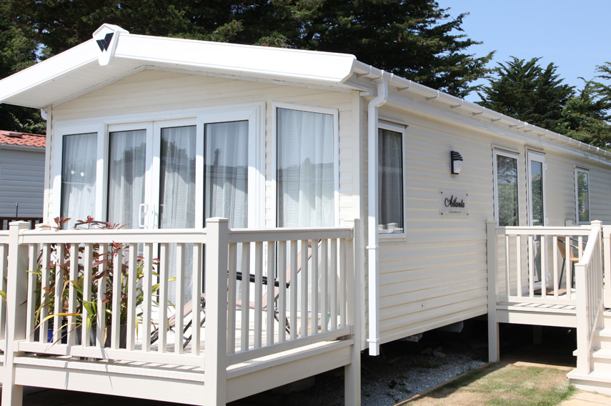 Platinum 2 Bed Caravan, Par Sands Holiday Park