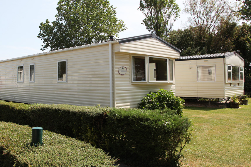 Silver 3 Bed Caravan, Par Sands, Dog Friendly