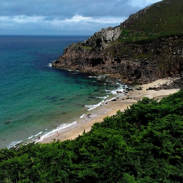The Quietest Beaches in Cornwall