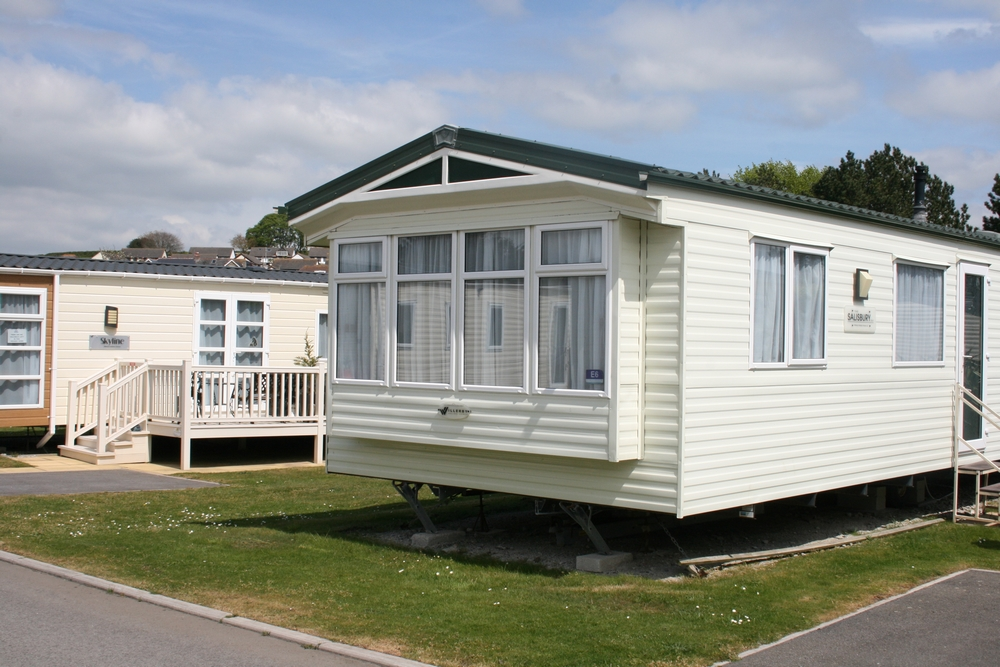 Gold 2 Bed Caravan, Par Sands Holiday Park