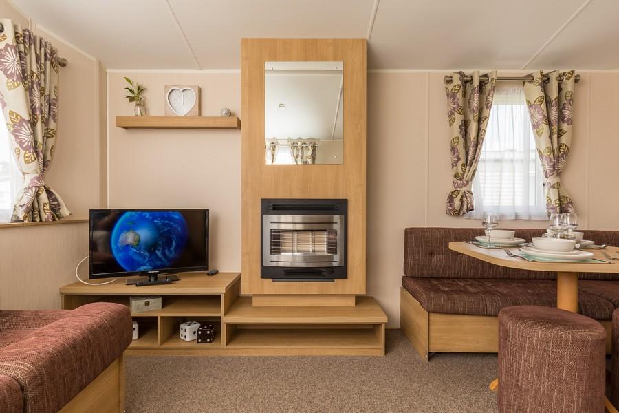 2 Bedroom Bluebell Caravan, Pentire Coastal Holiday Park