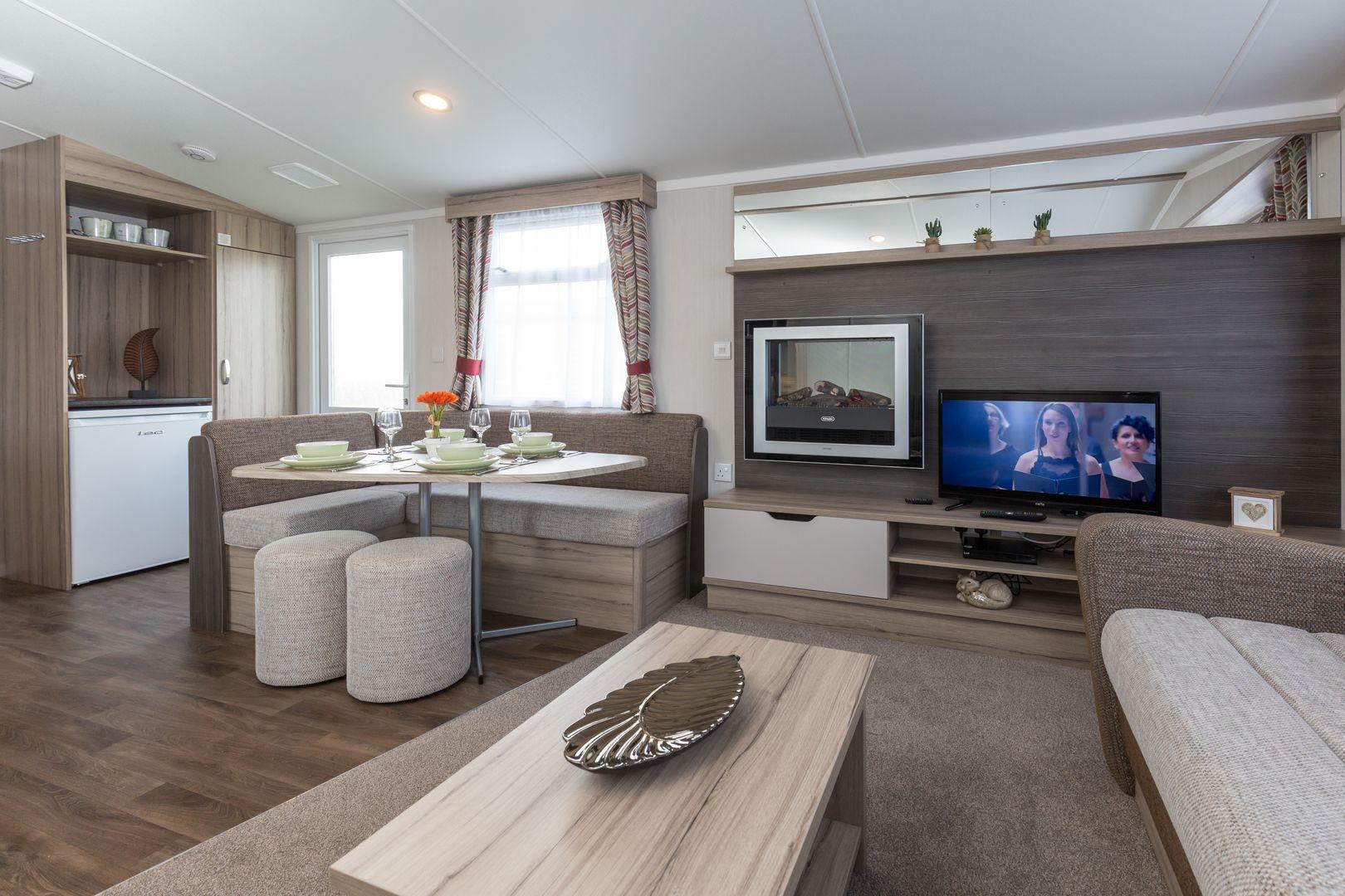 2 Bed Snowdrop Caravan, Dog Friendly, Pentire Coastal Holiday Park