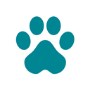 pet friendly dog paw icon