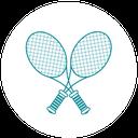 sport racket icon