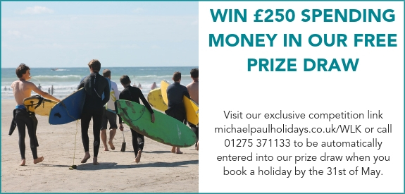 win 250 pounds holiday spending money prize details