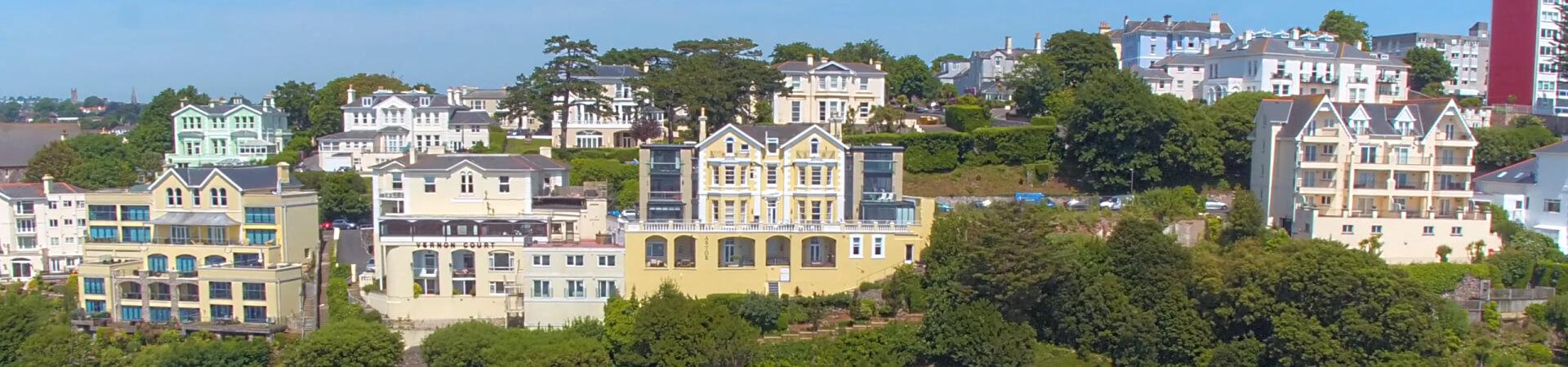 Seaside apartments in Torquay