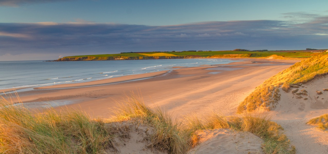 Remote beaches in Scotland