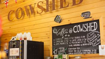 cowshed coffee shop at highlands end