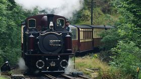 Ffestinog steam railway in Snowdonia