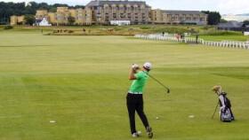 St Andrews Links golfing