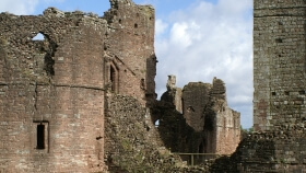 Goodrich Castle Herefordshire
