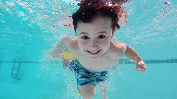 Swimming at Waves Leisure Pool