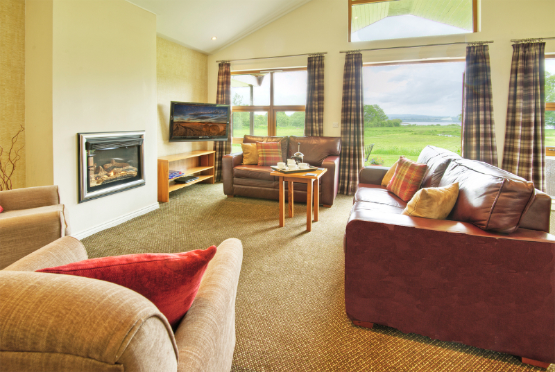 Abbotsford Chalet's comfortable living area