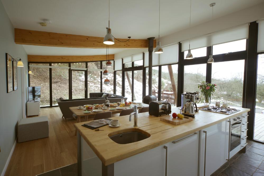 2 bedroom eco lodge yorkshire dales michael paul holidays for Best restaurants with rooms yorkshire dales
