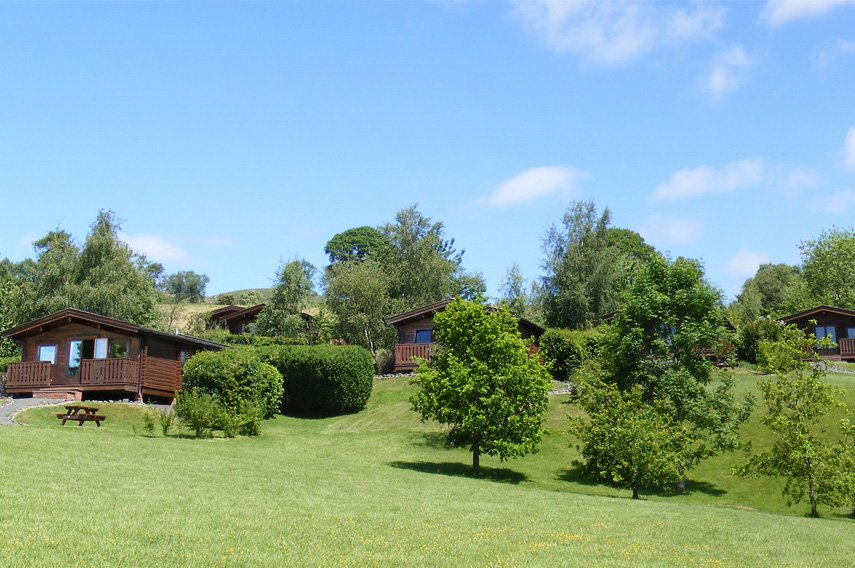 2 Bed Premium Lodge With Hot Tub, Rhayader photo