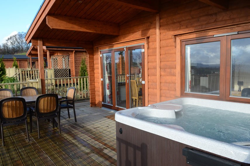 3 Bed Premium Lodge, (With Hot Tub) photo