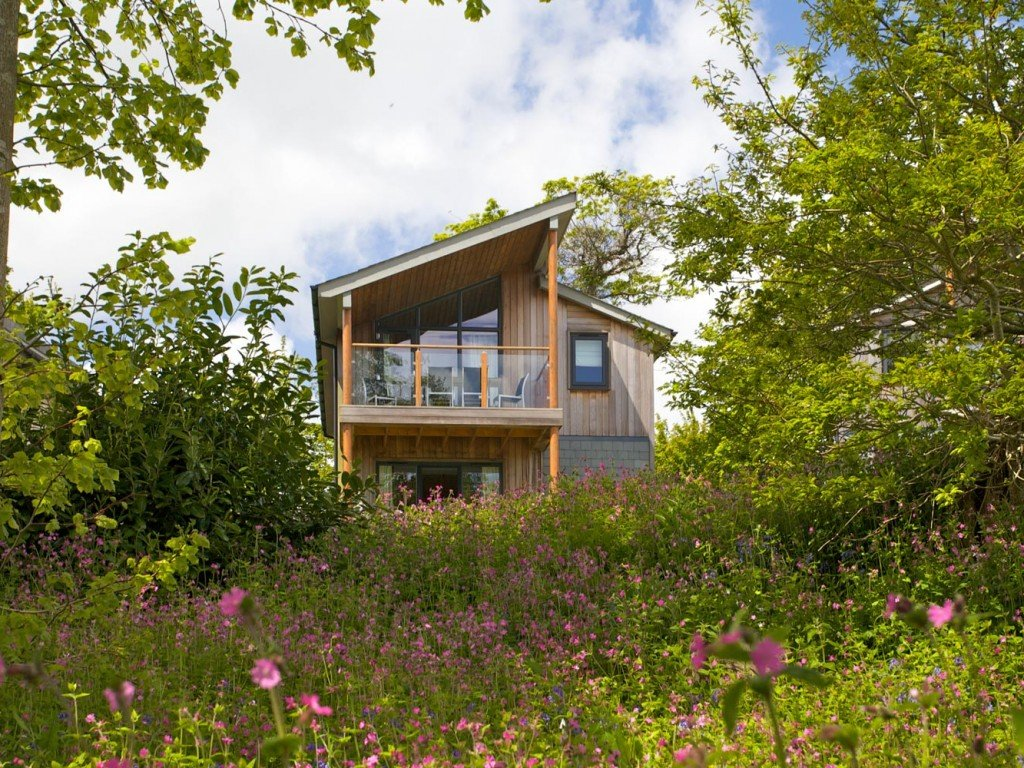 2 Bedroom Gold Woodland Lodge, Cornwall Hotel, Spa & Estate, nr St Austell