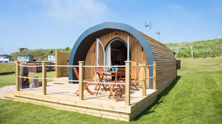 Sauchope Links glamping
