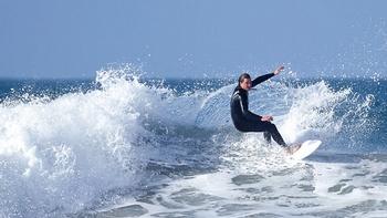 Surfing Scotland